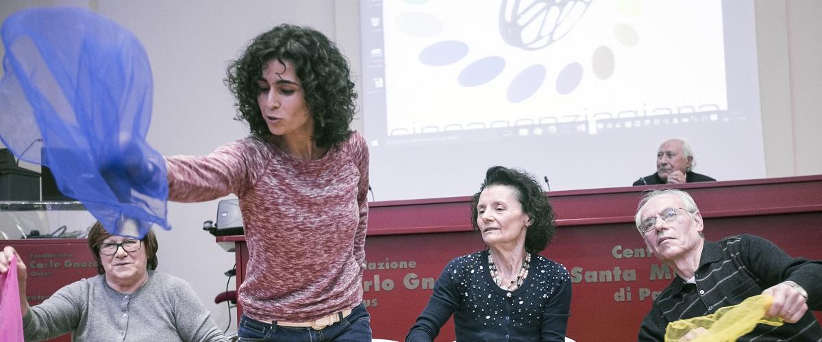 Scopi sociali: iniziative sociali - Danza creativa metodo Maria Fux